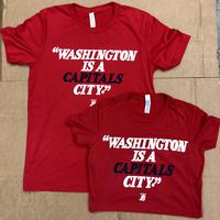 Men's Washington is a CAPITALS City T-shirt - Red