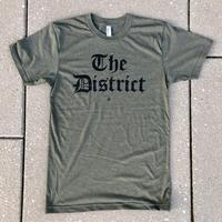 "Men's ""The District"" Olde English - Heather Military (Black Imprint)"