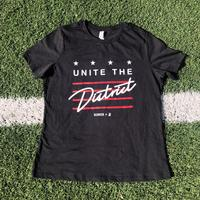 "<font color=""crimson""><B>***LIMITED EDITION***</B></font>Ladies Unite the District - Black Heather"
