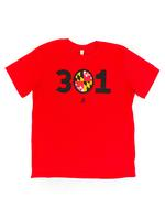 Men's 301 MD T-shirt - Red