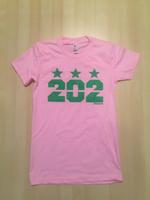 Ladies 202 Stars - Pink (Green Imprint)