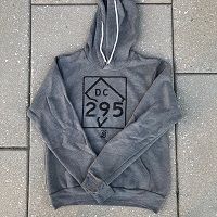 Unisex - 295 Hoodie - Heather Grey