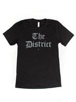 "Men's ""The District"" Olde English - Black (Grey Imprint)"