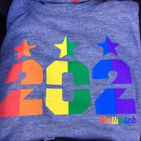 Men's 202 Stars Pride Rainbow - Grey Triblend
