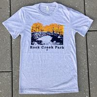 "Men's ""Rock Creek Park"" White Fleck Triblend shirt"