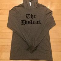 "Unisex ""The District"" Olde English - Deep Heather Grey (Black Imprint)"