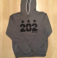Unisex Hoodie 202 Stars - Dark Grey Heather