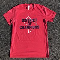 "<font color=""red""><B>***LIMITED EDITION***</B></font> Unisex - DISTRICT of CHAMPIONS - Heather Red (Navy & White Imprint)"