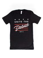 "<font color=""red""><B>***LIMITED EDITION***</B></font>Unisex Unite the District T-shirt - Black Heather"