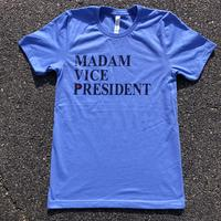 "<font color=""red""><B>***LIMITED EDITION***</B></font> Unisex Madam Vice President - Heather Light Blue"