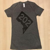 Ladies 202 Stamp - Deep Heather Grey