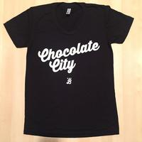 Ladies Chocolate City - Black (White Imprint)