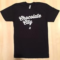 Men's Chocolate City - Black (White Imprint)