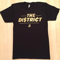 Men's District Dollars - Black (Metallic Gold Imprint)
