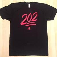 Men's 202 Emoji - Black (Red Imprint)