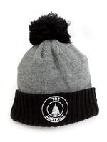 Unisex District Seal Knit Hat - Black/Heather Grey