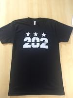 Men's 202 Stars - Black (White Imprint)