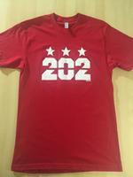 Men's 202 Stars - Red (White Imprint)