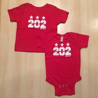 Infant - Toddler & Youth - 202 Stars (The Original)- Red