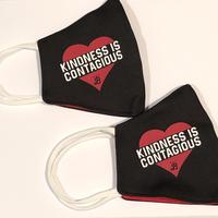 Kindness is Contagious - Cotton/Poly Mask - 2 pack