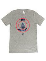 Men's District Seal - Athletic Grey (Red & Navy Imprint)