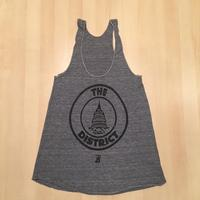 Ladies District Seal Tank - Athletic Grey (Black Imprint)