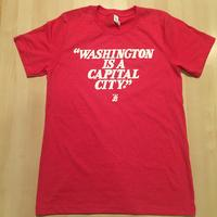 Men's Washington is a Capital City - Heather Red (White Imprint)